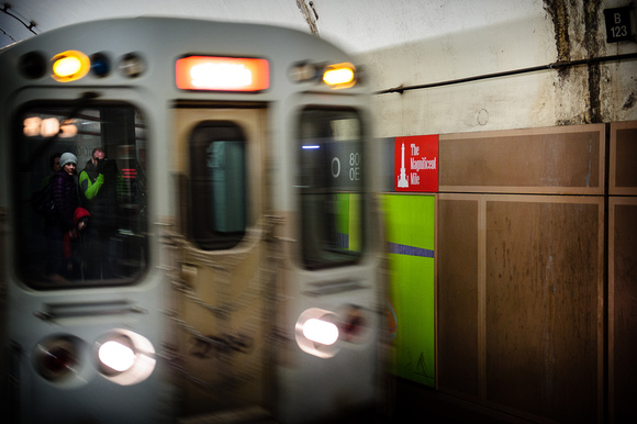 Train Window Self Portrait