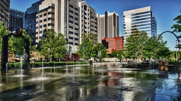 City Garden Fountain