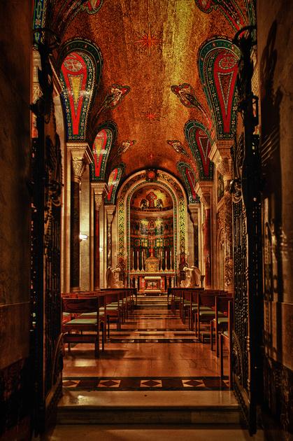 Blessed Sacrament Chapel Entrance